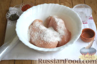 Фото приготовления рецепта: Бастурма из куриного филе - шаг №3