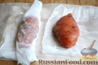 Фото приготовления рецепта: Бастурма из куриного филе - шаг №7