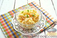 Фото приготовления рецепта: Салат из ананасов с чесноком - шаг №6
