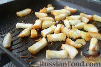 """Фото приготовления рецепта: Салат """"Цезарь"""" с креветками - шаг №3"""