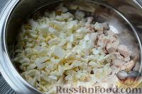 """Фото приготовления рецепта: Салат """"Праздничный оливье"""" с курицей - шаг №3"""
