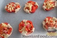 Фото приготовления рецепта: Тарталетки без формочек - шаг №10