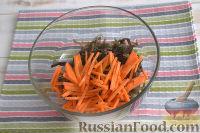 """Фото приготовления рецепта: Салат из морской капусты """"Японский"""" - шаг №2"""