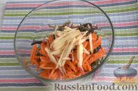 """Фото приготовления рецепта: Салат из морской капусты """"Японский"""" - шаг №3"""