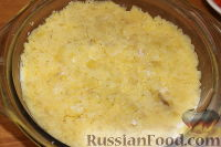 """Фото приготовления рецепта: Салат """"Грибная поляна"""" - шаг №13"""