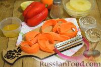 Фото приготовления рецепта: Салат с ананасами и апельсинами - шаг №2