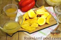 Фото приготовления рецепта: Салат с ананасами и апельсинами - шаг №5