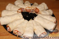 """Фото приготовления рецепта: Пирог """"Рождественский венок"""" - шаг №12"""