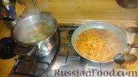 Фото приготовления рецепта: Солянка мясная - шаг №3