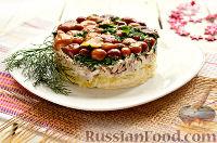 """Фото к рецепту: Салат """"Грибная поляна"""""""