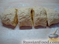 Фото приготовления рецепта: Бездрожжевые баурсаки на кефире - шаг №5