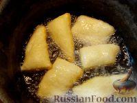Фото приготовления рецепта: Бездрожжевые баурсаки на кефире - шаг №10