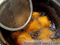 Фото приготовления рецепта: Бездрожжевые баурсаки на кефире - шаг №12