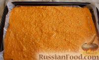Фото приготовления рецепта: Тыквенный рулет с курицей и грибами - шаг №7
