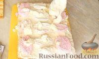 Фото приготовления рецепта: Торт с зефиром и бананами (без выпечки) - шаг №7