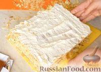 Фото приготовления рецепта: Торт с зефиром и бананами (без выпечки) - шаг №8