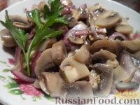 Фото к рецепту: Маринованные шампиньоны