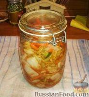 Фото к рецепту: Кимчи (кимчхи)