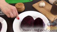 Фото приготовления рецепта: Салат из свеклы с чесноком - шаг №1
