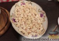 Фото приготовления рецепта: Салат «Белая береза» - шаг №9