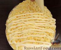 Фото приготовления рецепта: Салат «Белая береза» - шаг №17