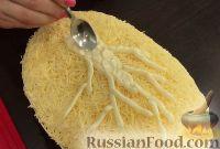 Фото приготовления рецепта: Салат «Белая береза» - шаг №21