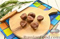 Фото приготовления рецепта: Драники с каштанами - шаг №2