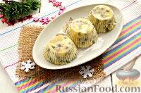 """Фото приготовления рецепта: Заливной салат """"Оливье"""" со шпротами - шаг №10"""