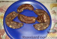 Фото к рецепту: Колбаса сыровяленая