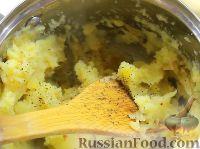 Фото приготовления рецепта: Вареники с картошкой - шаг №9