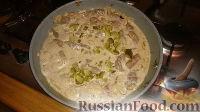 Фото приготовления рецепта: Печенка с огурцами - шаг №9
