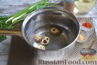 Фото приготовления рецепта: Теплый салат из морепродуктов с рисом - шаг №2