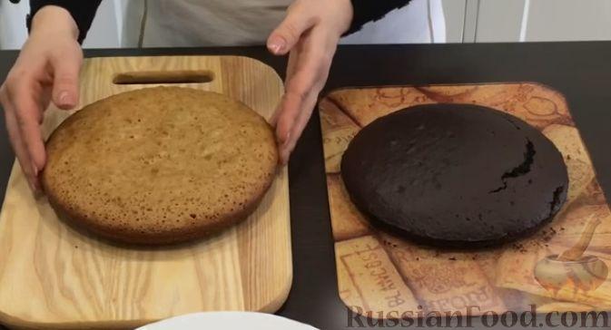 Торт кудряшка пошагово