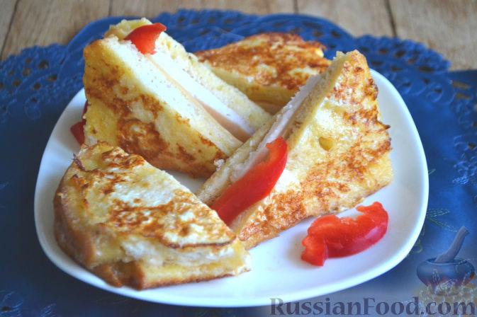 теплые бутерброды в дорогу рецепт