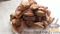 """Фото приготовления рецепта: Печенье """"Гусиные лапки"""" - шаг №10"""