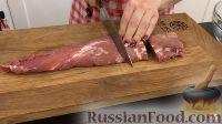 Фото приготовления рецепта: Мясные пальчики из свинины (крученики) - шаг №3