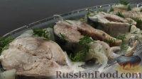 Фото к рецепту: Маринованная скумбрия