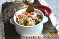 """Фото к рецепту: Суп """"Гамбо"""""""