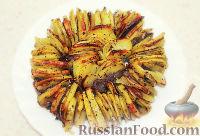 Фото к рецепту: Хрустящий картофель, запеченный в духовке