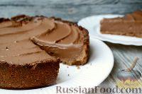 """Фото к рецепту: Шоколадный пирог """"Грязь Миссисипи"""""""