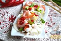 Фото к рецепту: Тайский салат из морепродуктов