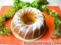 Фото к рецепту: Имбирный кекс с изюмом и цукатами (без сахара)
