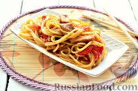 Фото к рецепту: Спагетти с мясом