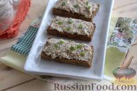 Фото к рецепту: Бутерброды с рыбным паштетом