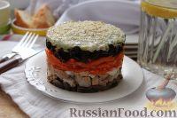 Фото к рецепту: Салат «Лакомка»