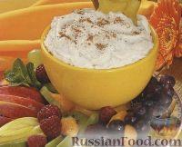 Фото к рецепту: Сливочный соус-дип с корицей (для фруктов)