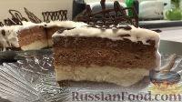 Фото к рецепту: Шоколадный чизкейк (без выпечки)