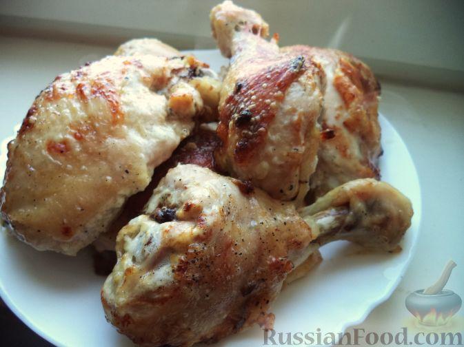 курица с имбирем и чесноком в духовке рецепт