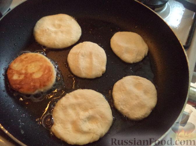 Творожники на сковороде с манкой пошагово