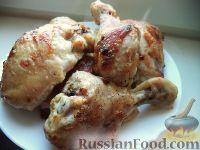Фото к рецепту: Курица в йогуртовом маринаде